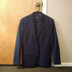 Sharp Navy Suit by H&M - Men's 38R